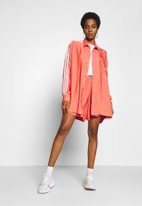 adidas Originals - BUTTON UP - Button-down blouse - trace scarlet - 1