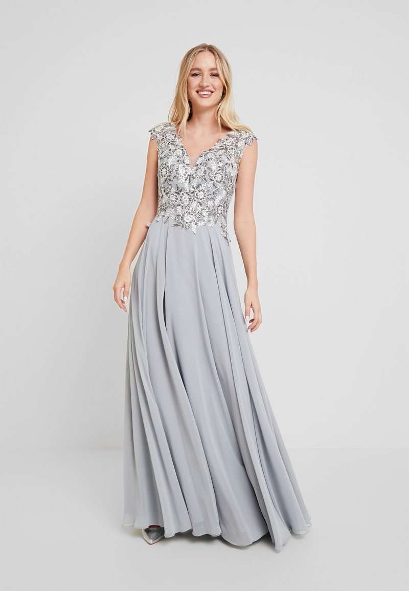 Luxuar Fashion - Robe de cocktail - silber grau