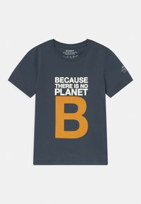 Ecoalf - GREAT B UNISEX - T-shirt print - navy - 0