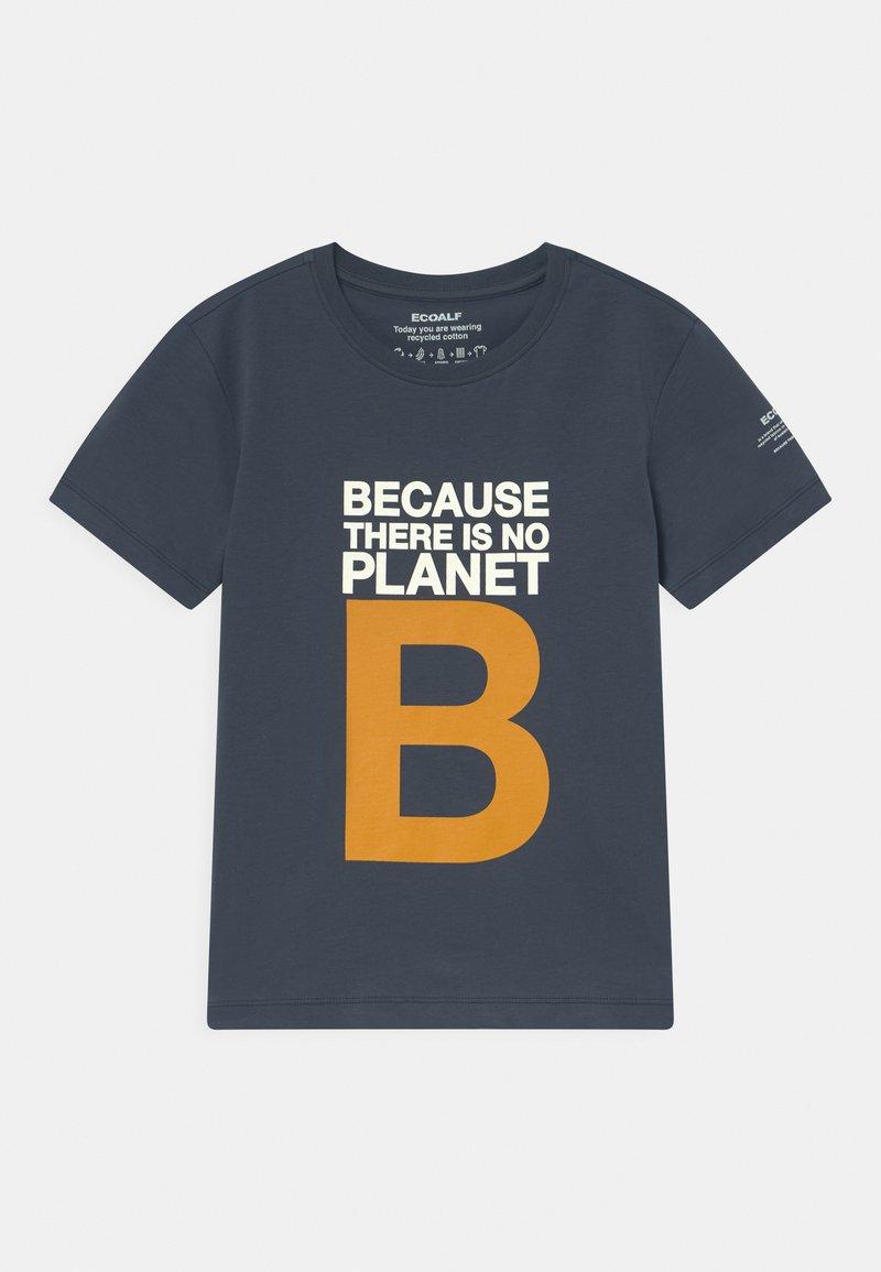 Ecoalf - GREAT B UNISEX - T-shirt print - navy