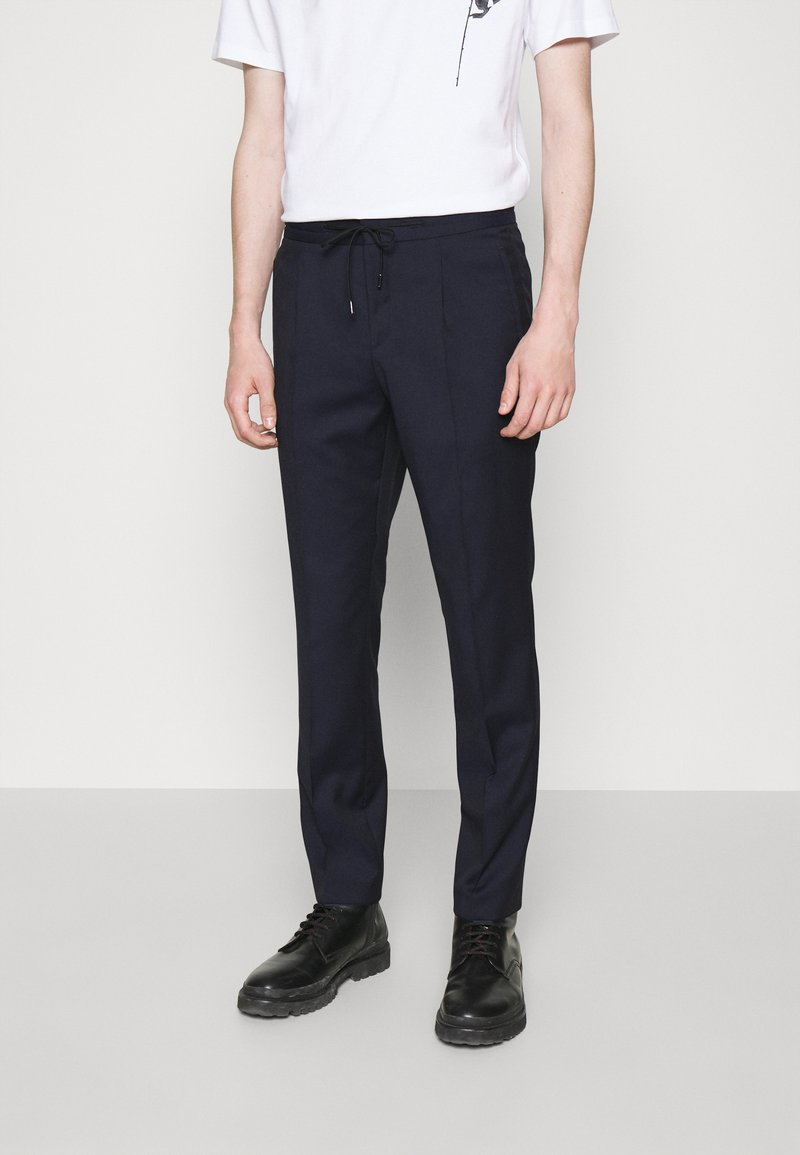 HUGO - HELIOS - Trousers - dark blue