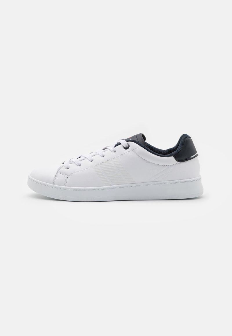 Tommy Hilfiger - RETRO TENNIS CUPSOLE  - Sneakersy niskie - white/desert sky