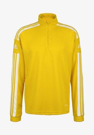 veste en sweat zippée - team yellow / white
