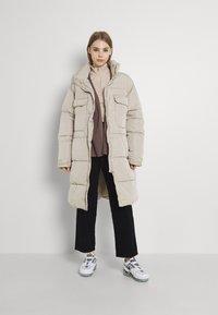 Sixth June - Winter coat - beige - 1