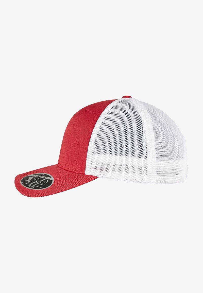 Flexfit - Cap - red/wht