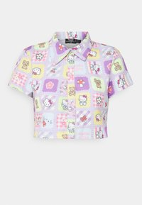NEW girl ORDER - CROPPED PATCHWORK SHIRT - Blouse - multi - 4