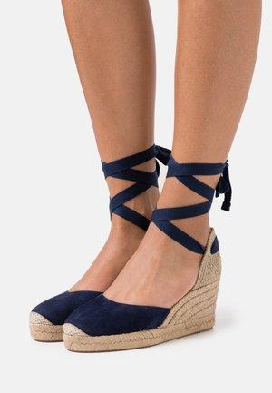 CANDIDA - Platform sandals - ocean