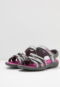 Teva - Walking sandals - silver/magenta - 3