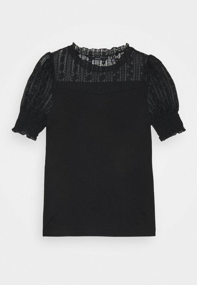 VMEMILIA - Camiseta estampada - black