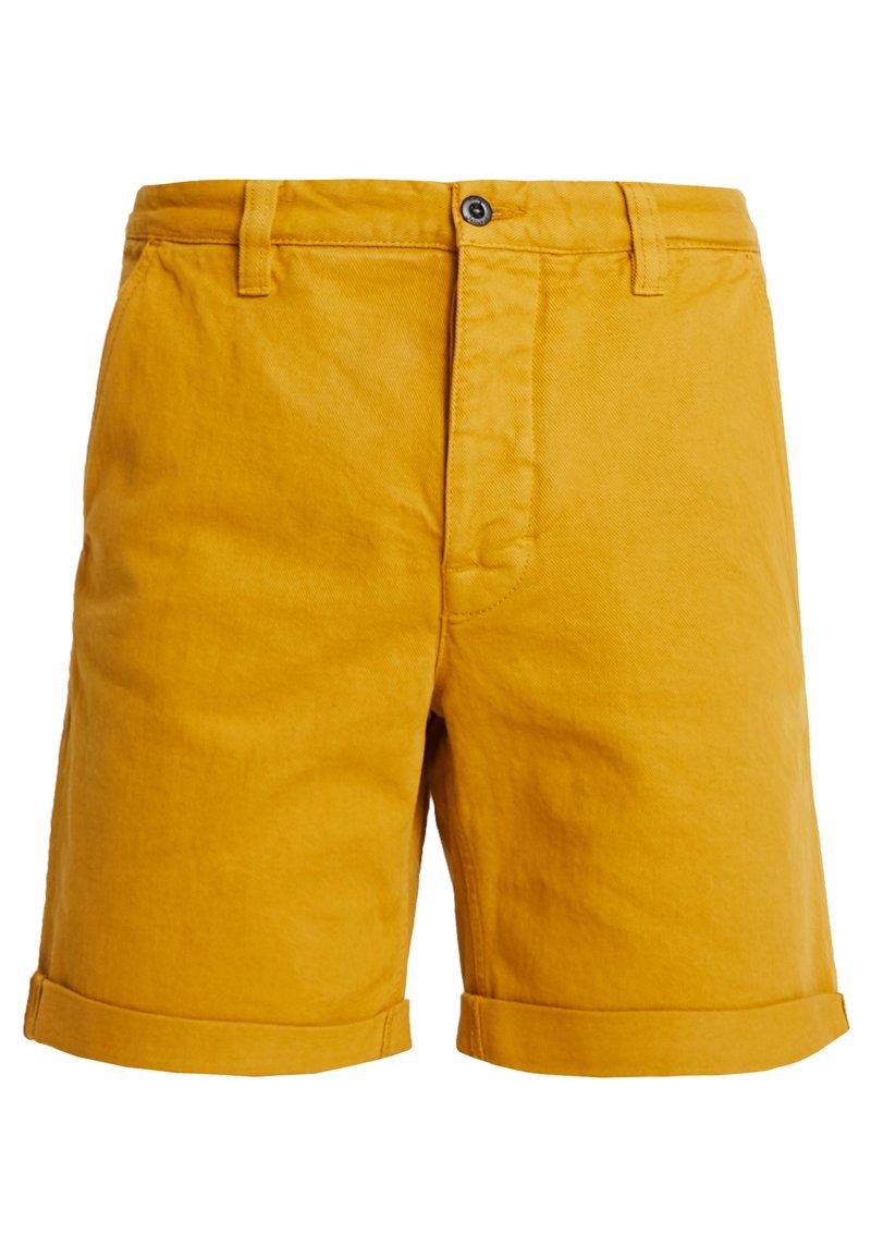 Nudie Jeans - LUKE - Denim shorts - tumeric