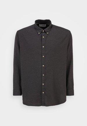 SLHSLIM - Skjorta - black melange