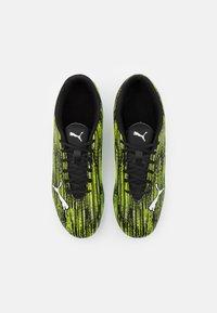Puma - ULTRA 4.2 MXSG - Screw-in stud football boots - black/white/yellow alert - 3