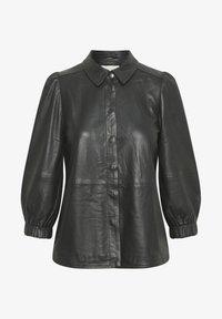 Part Two - FREYJAPW - Button-down blouse - black - 5