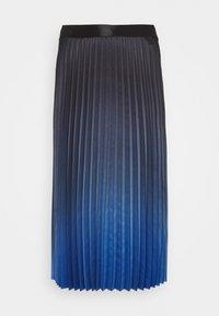 comma - A-line skirt - blue - 0