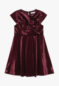 Chi Chi Girls - VICTORIANA DRESS - Cocktail dress / Party dress - burgundy - 0