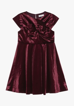 VICTORIANA DRESS - Cocktailjurk - burgundy