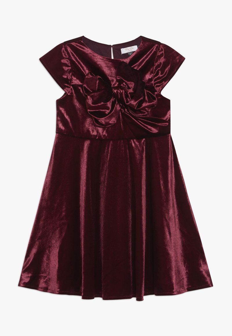 Chi Chi Girls - VICTORIANA DRESS - Cocktail dress / Party dress - burgundy