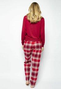 Cyberjammies - Pyjama bottoms - red chks - 3