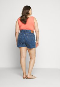 Levi's® Plus - 501® ORIGINAL SHORT - Denim shorts - charleston erosion - 2