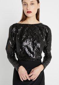Lauren Ralph Lauren - CLASSIC GOWN  - Vestido de fiesta - black - 6