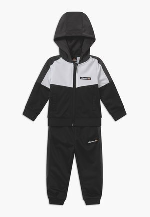 DOUG BABY SET - Tracksuit - black/white
