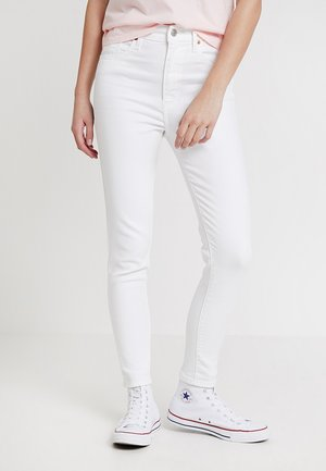 MILE HIGH ANKLE SKINNY WHITE DENIM - Jeans Skinny Fit - western white