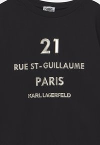 KARL LAGERFELD KIDS - Long sleeved top - black - 2