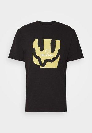MELTER SQUARE - T-shirt print - black