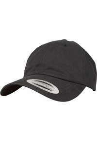Flexfit - PEACHED COTTON TWILL DAD - Cap - black - 2