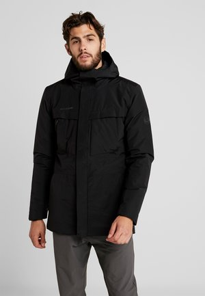 CHAMUERA THERMO HOODED MEN - Parka - black
