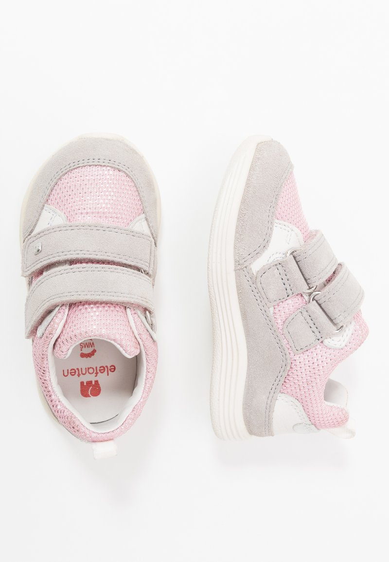 Elefanten - CHICO - Trainers - grey/pink