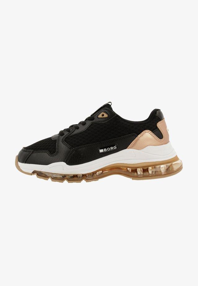 X500  - Sneakers laag - black
