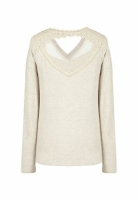 NAF NAF - Long sleeved top - beige - 5