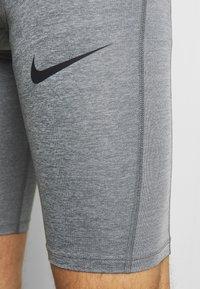 Nike Performance - SHORT LONG - Punčochy - smoke grey/light smoke grey/black - 4