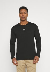 The North Face - CENTRAL LOGO - Long sleeved top - black - 0