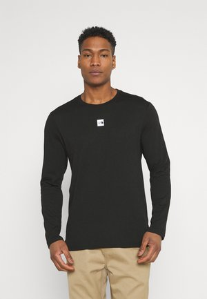 CENTRAL LOGO - Long sleeved top - black
