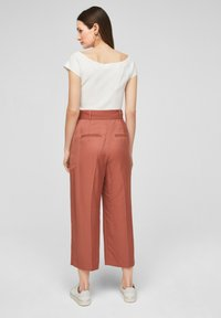 s.Oliver BLACK LABEL - REGULAR FIT - Trousers - dusty apricot - 2