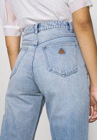 Abrand Jeans - VENICE STRAIGHT - Straight leg jeans - destroyed denim - 5
