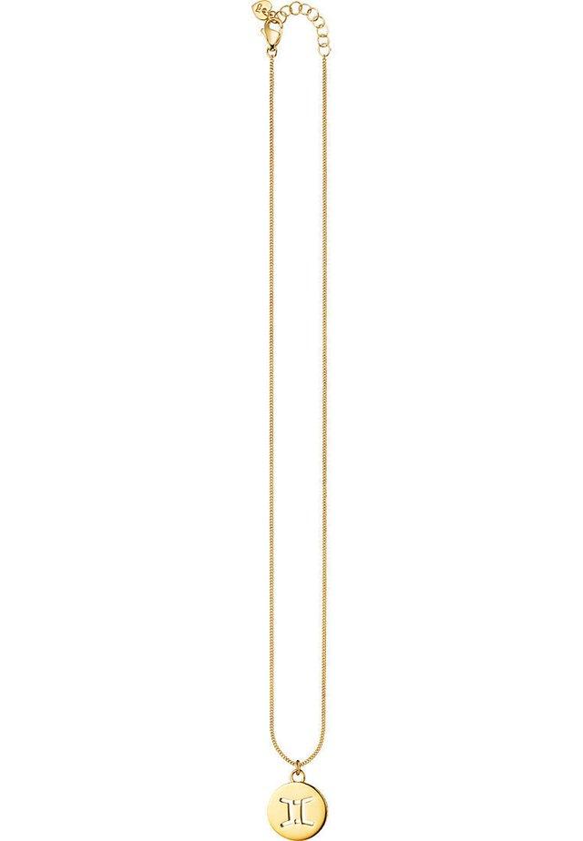 CAÏ DAMEN-KETTE LOVE 925ER SILBER - Necklace - gold
