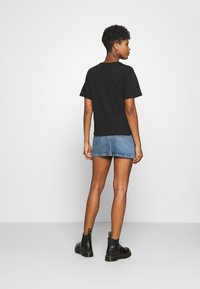 JDY - LIFE  - Print T-shirt - black/text - 2