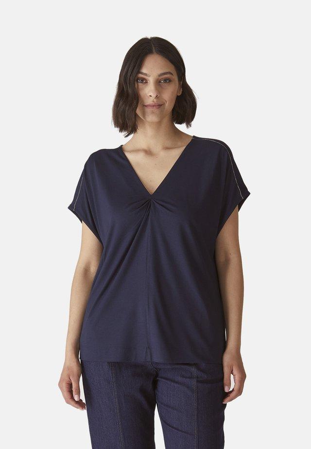T-shirt basic - blu