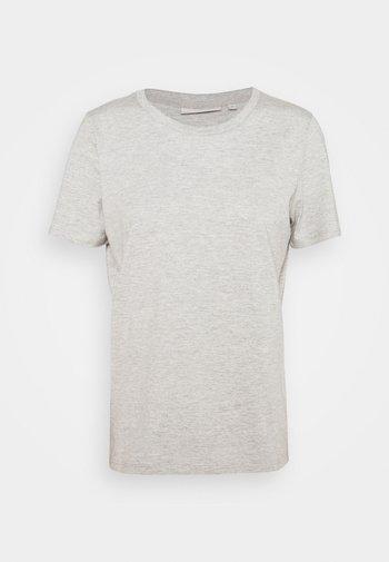 KIMMA - Basic T-shirt - light grey melange