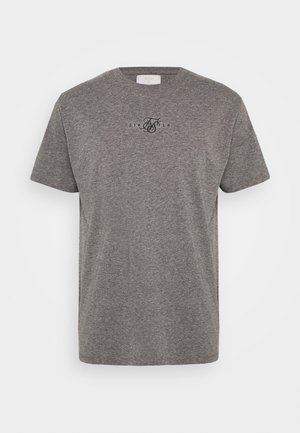 SQUARE HEM TEE - T-shirt basic - grey