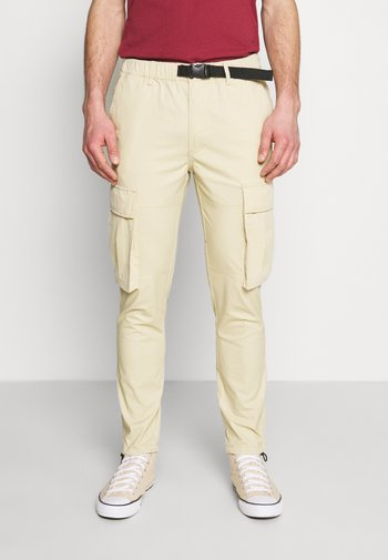 Cargo trousers - stone