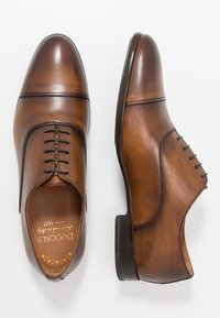 Doucal's - PISA - Smart lace-ups - radica brandy /testa di moro - 1