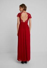 TFNC - PEARLY MAXI - Společenské šaty - burgundy - 3
