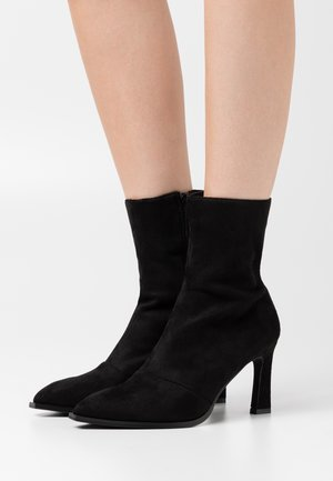 LOOK HEELED BOOTS - Classic ankle boots - black
