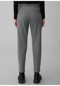 Marc O'Polo - MIT FISCHGRAT-MUSTER - Trousers - multi/black - 2