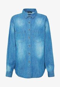 Cotton On - Button-down blouse - mid blue wash - 3