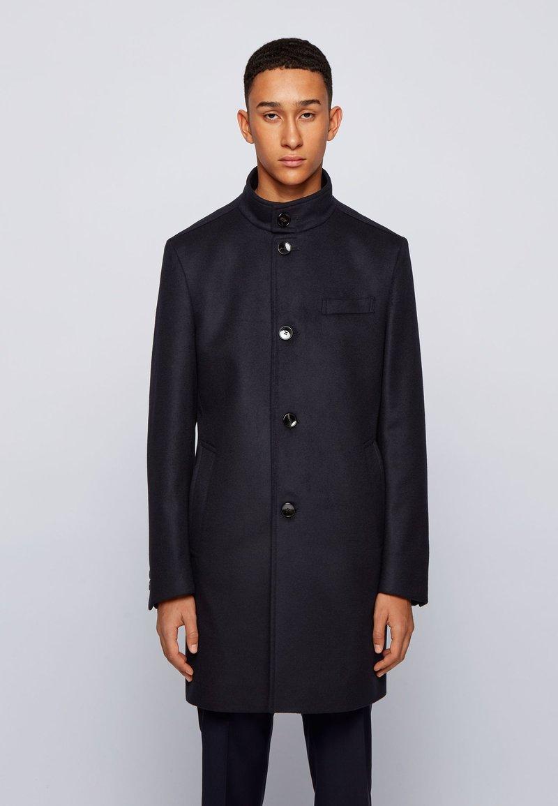 BOSS - Classic coat - dark blue